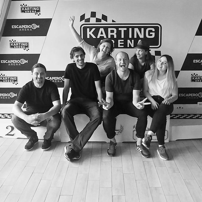 joomla.team Team Photo Karting